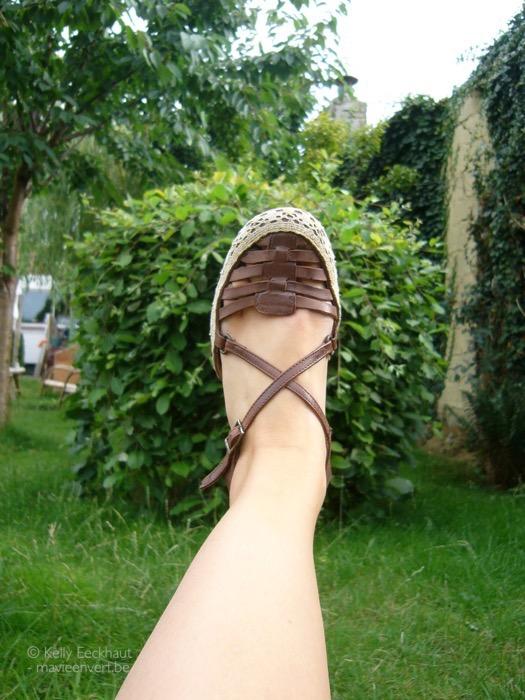 tweedehands-sandalen