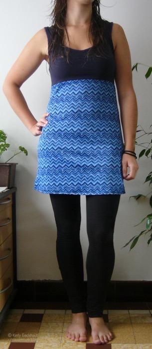blauwkleedje
