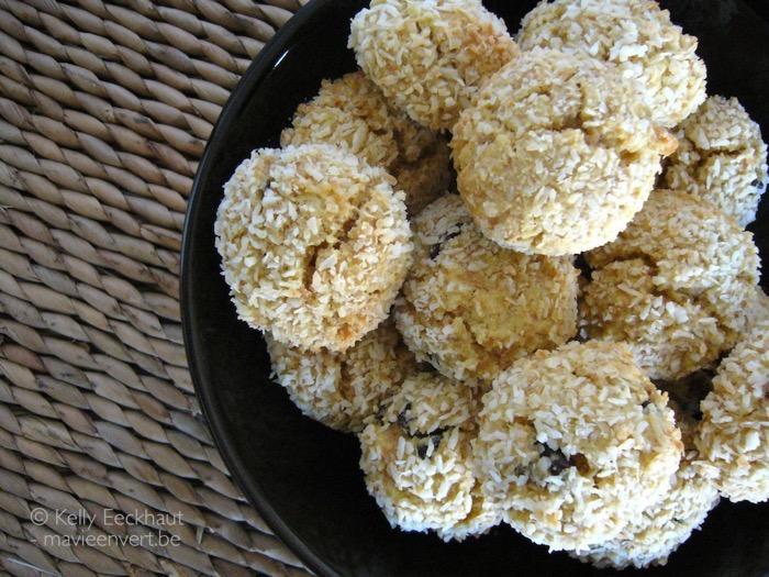 kokosbolletjes met rozijn