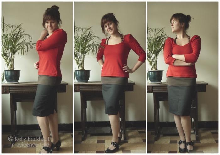 kokerrok-outfit
