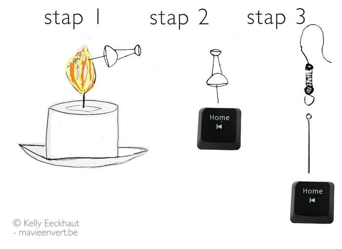 upcycling-toetsenbord-schematisch-oorbel