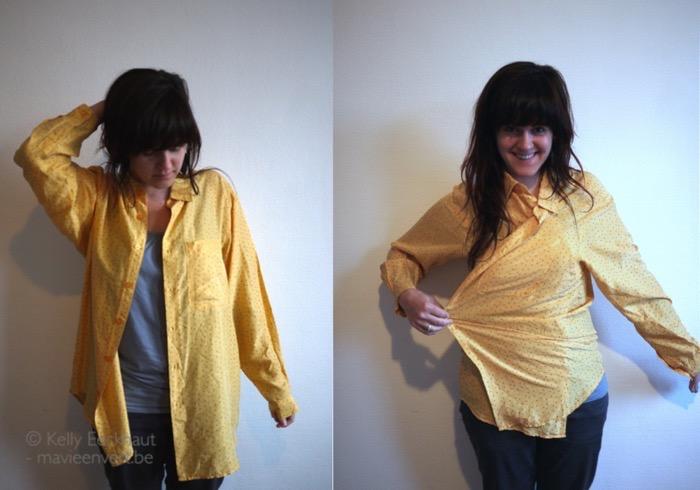 gele bloes voor