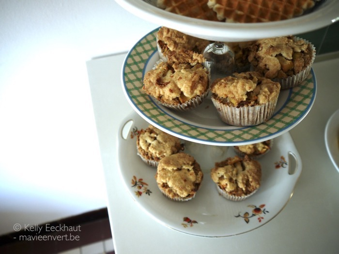 Apple Pie Crumb Cake Muffins