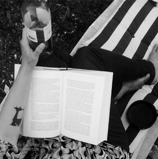 lezen en wijn