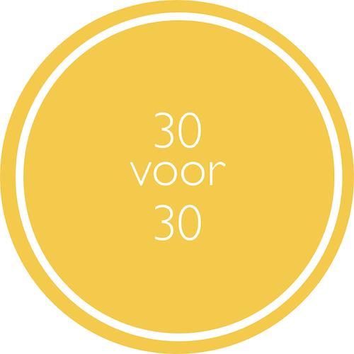 30 voor 30 update