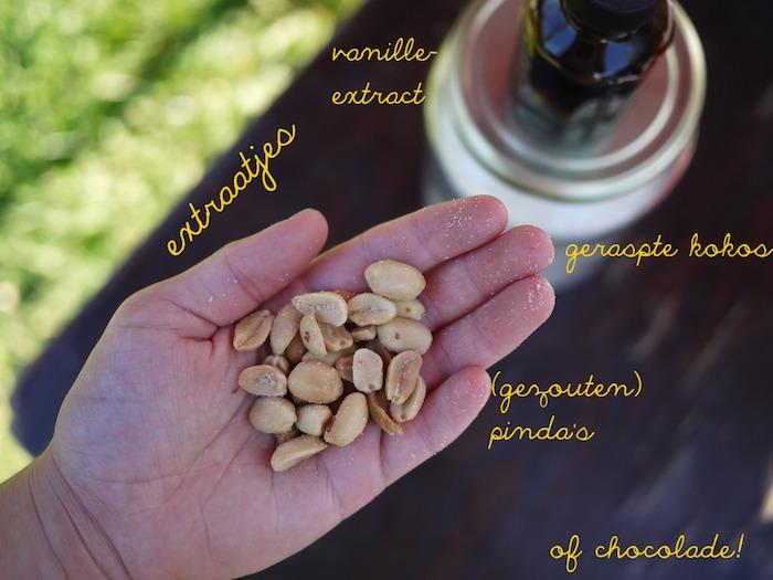 granola extraatjes