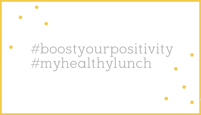 #boostyourpositivity #myhealthylunch