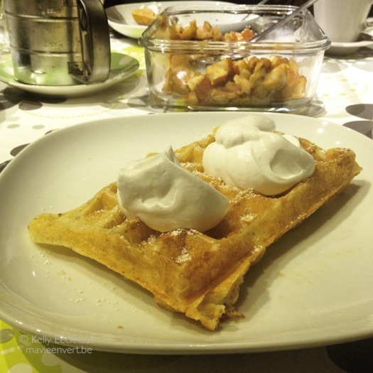 vegan wafels