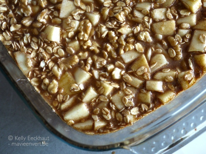 recept oh she glows cookbook maple-cinnamon baked oatmeal