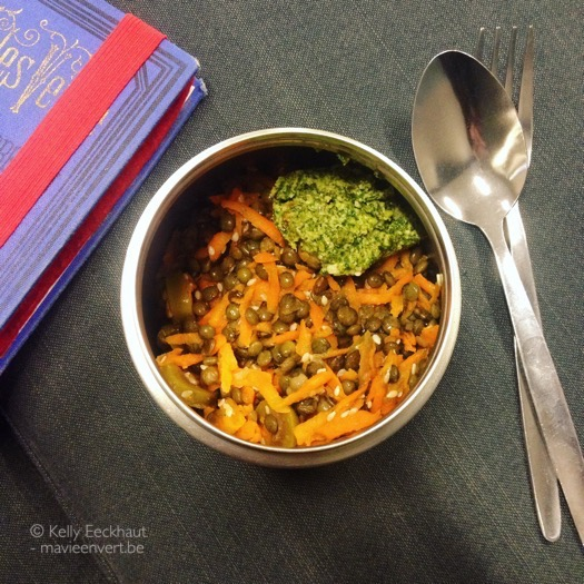 wortel-linzensalade